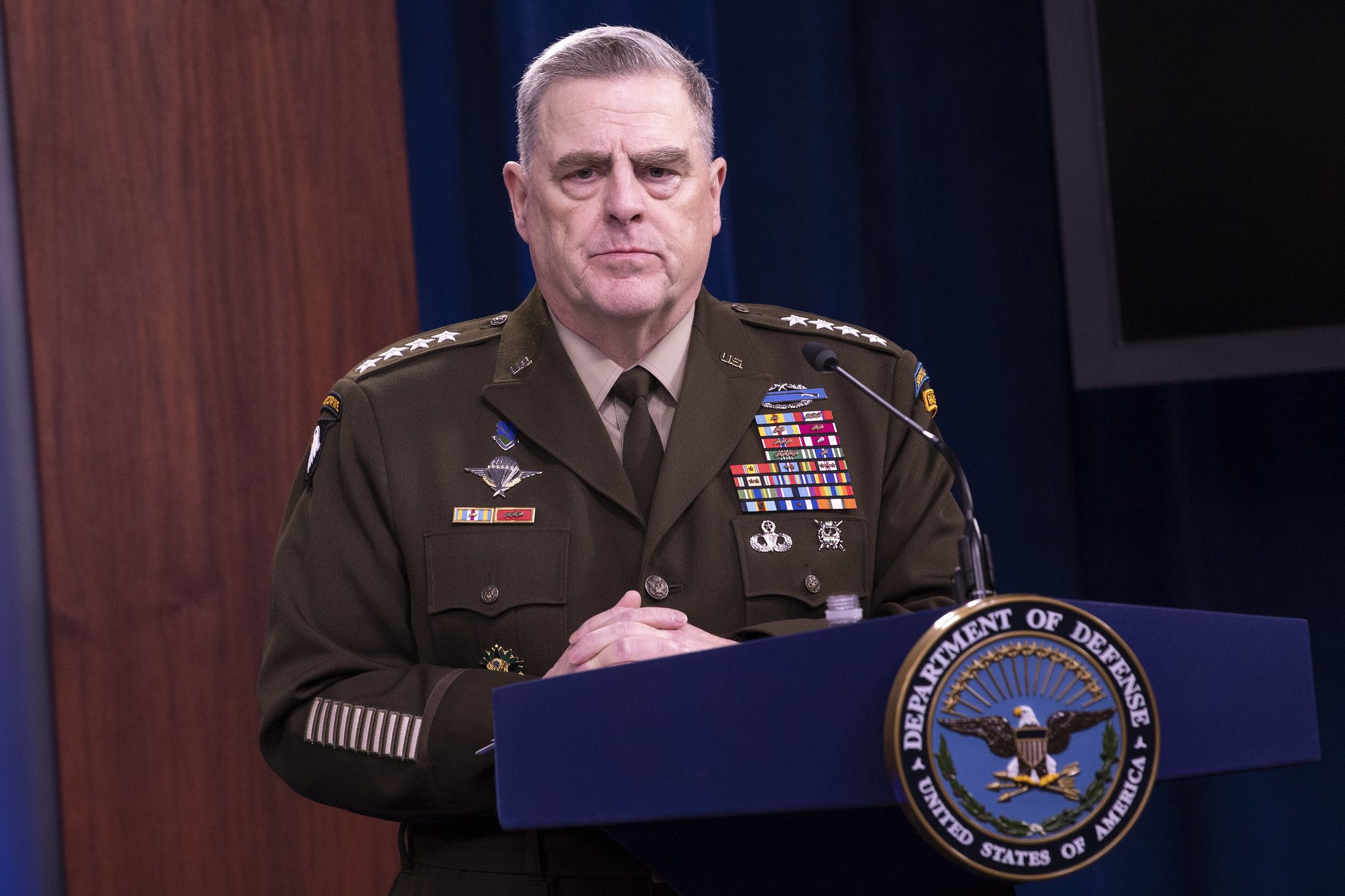 Gen. Mark Milley key to military continuity as Biden takes office