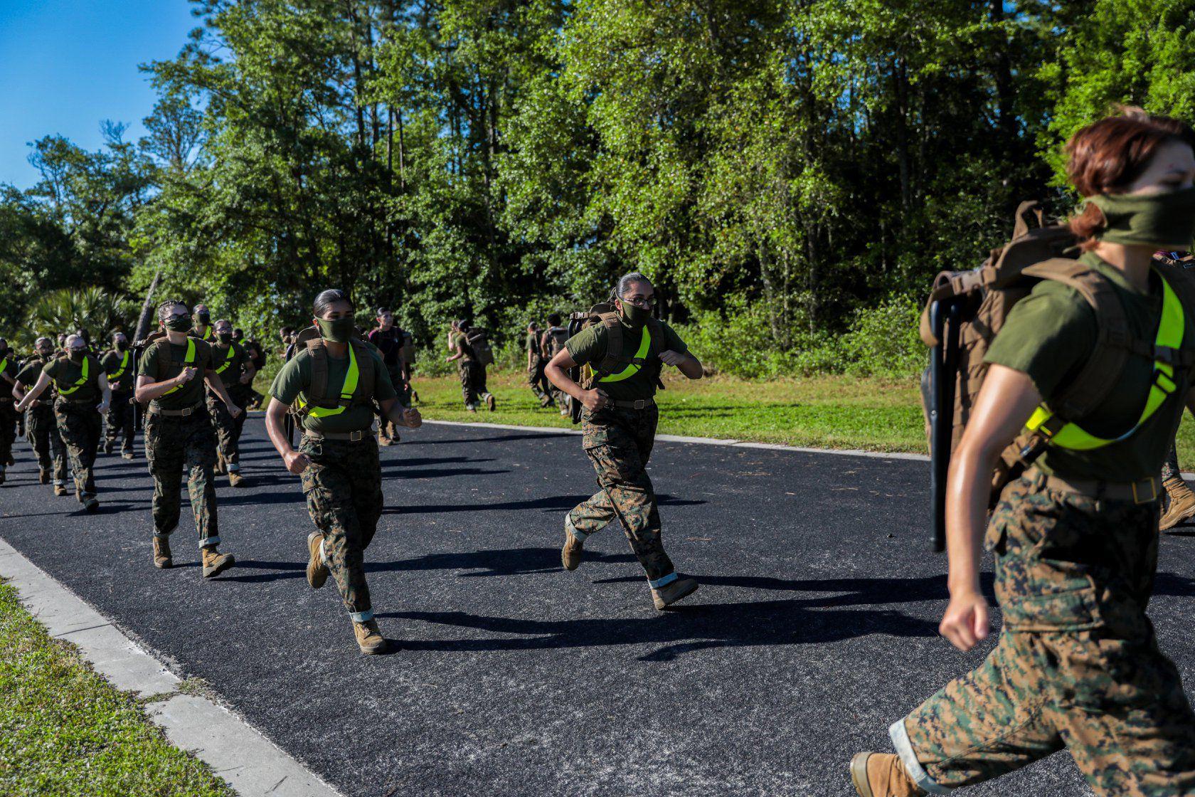 Having COVID doesn't guarantee immunity, study of Marine recruits finds