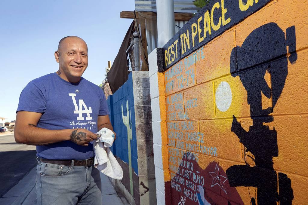 Marine veteran Cesar Lopez