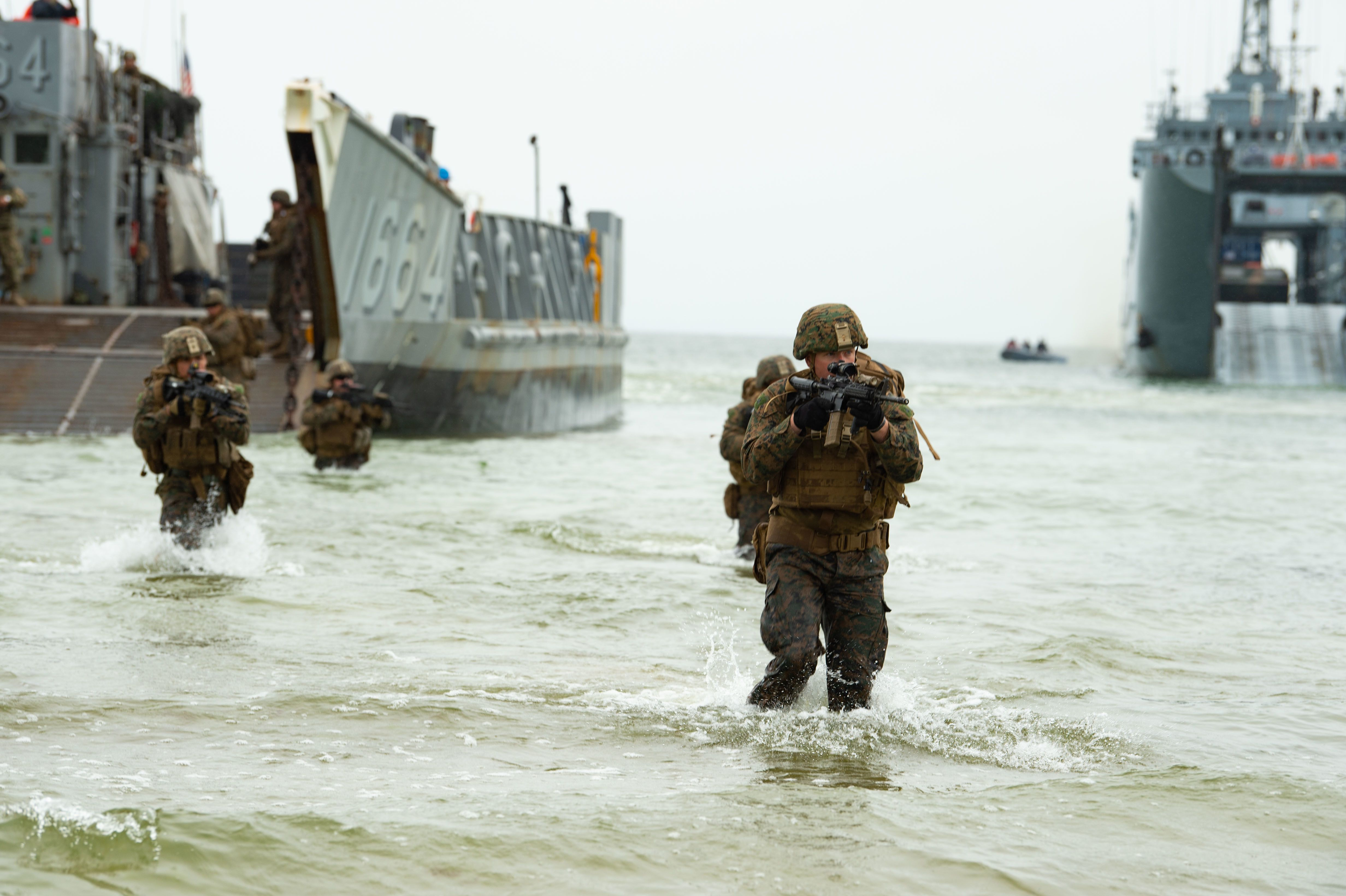 New in 2021: The Corps gets a new unit ― the Marine littoral regiment