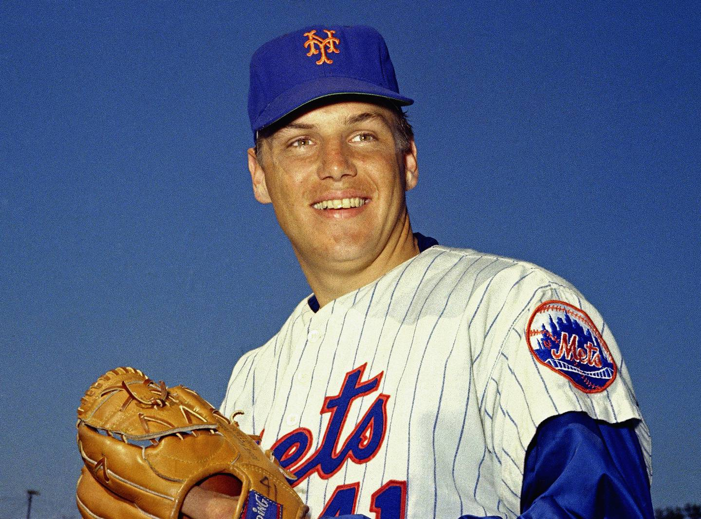 In this March 1968 file photo, New York Mets pitcher Tom Seaver poses for a photo, location not known.