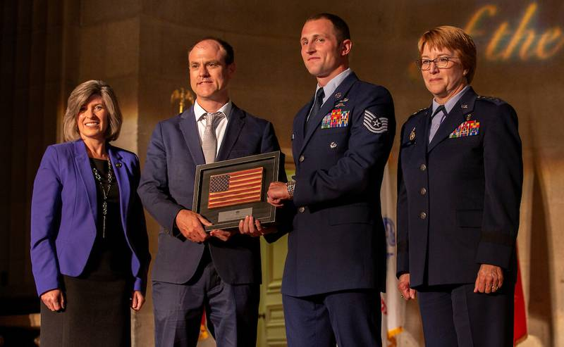 Airman of the Year Tech. Sgt. Cody Smith.