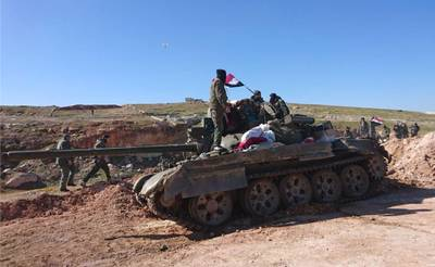Syrian government forces, al-Eis