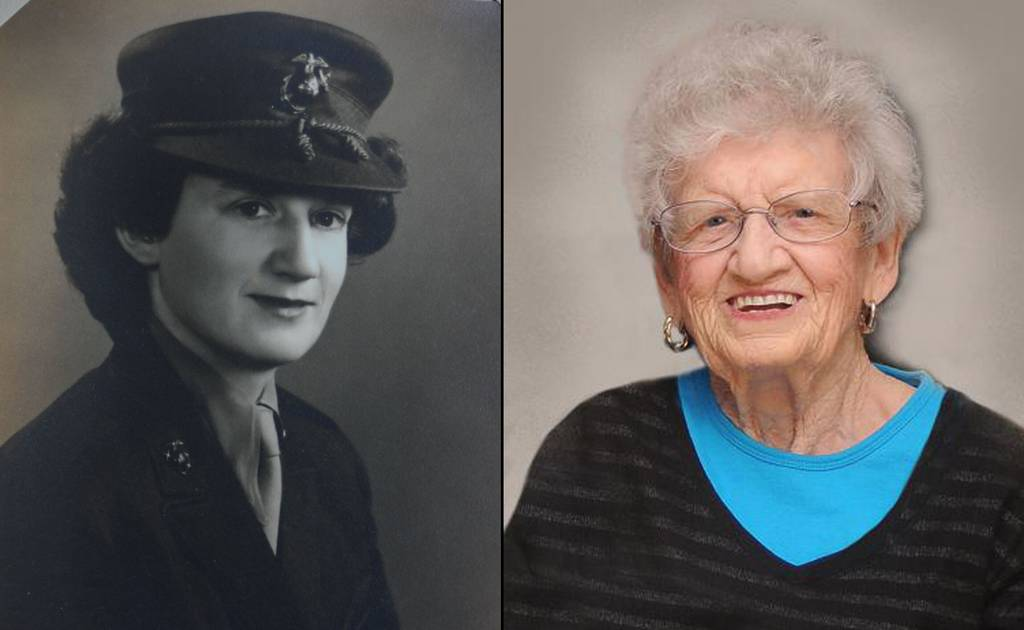 Sgt. Dorothy Schmidt Cole turned 107 on Saturday, Sept. 19, 2020, making her the oldest living Marine veteran, according to the Marine Corps.